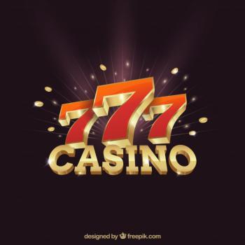 777 kasino musta tausta